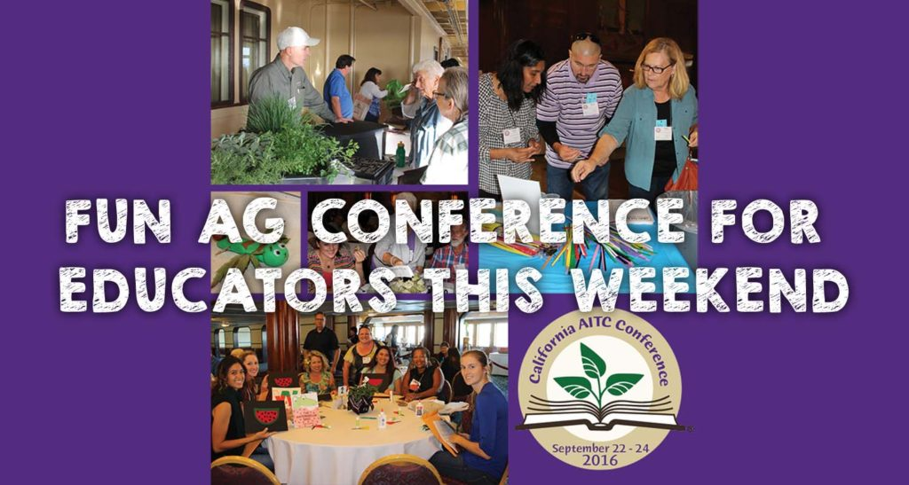 Fun Ag Conference for Educators This Weekend