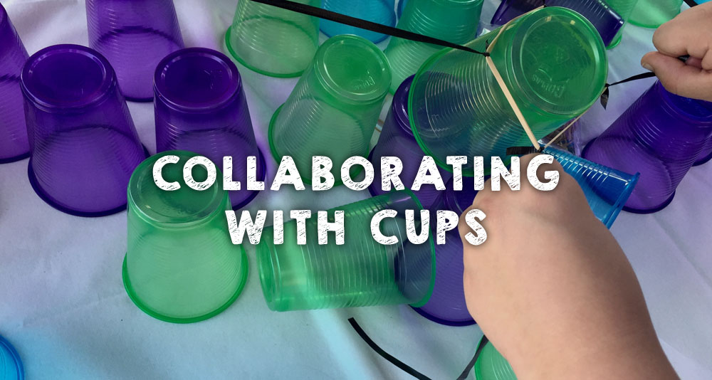 Collaborating with Cups