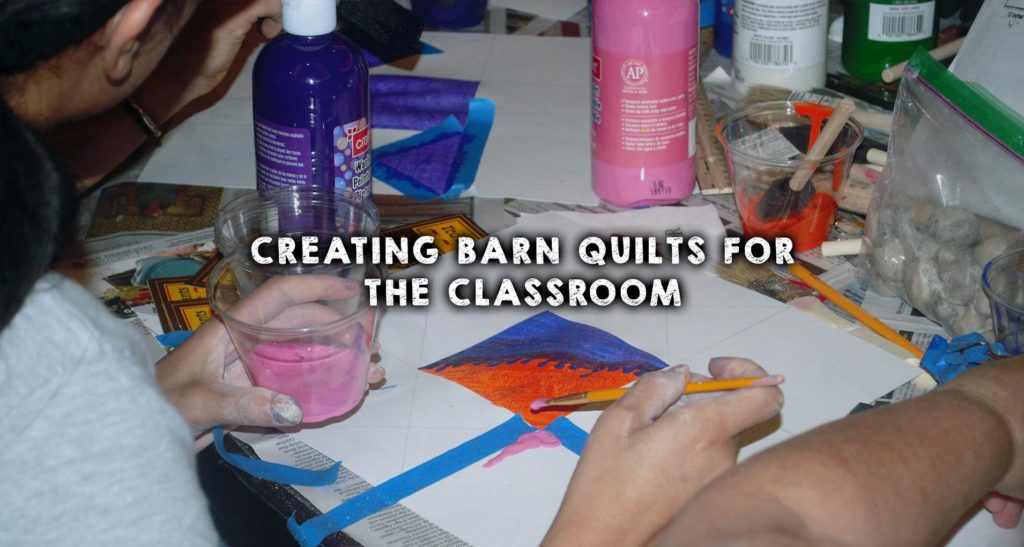 Creating Barn Quilts for the Classroom